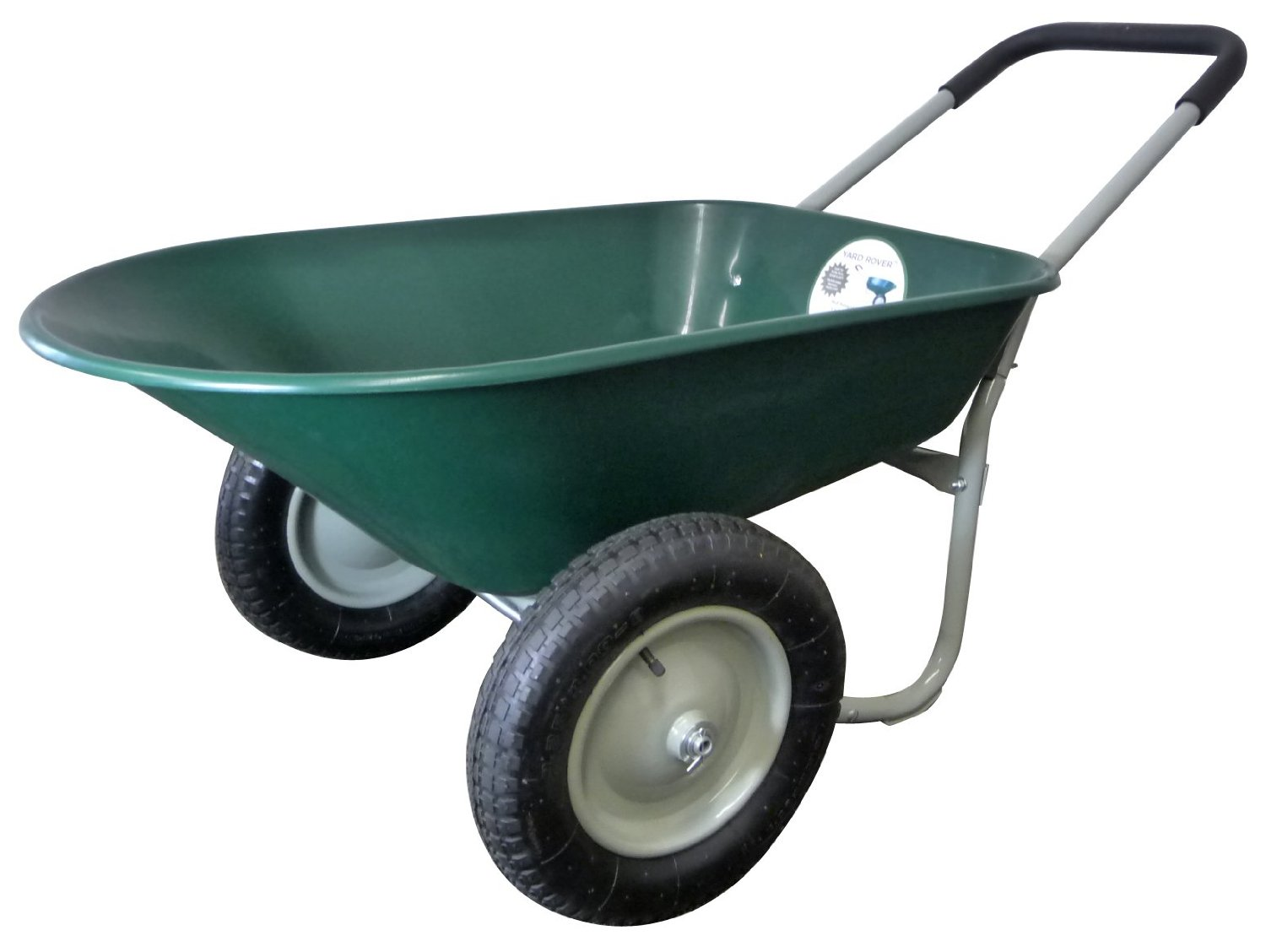 Marathon Dual-Wheel Residential Wheelbarrow