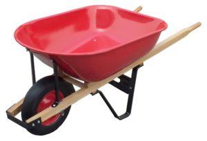 United General Heavy Duty Steel Tray Wheelbarrow